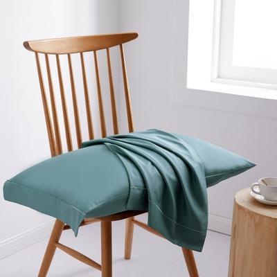 2019新款60S长绒棉舞彩单品枕套 枕套/对 祖母绿
