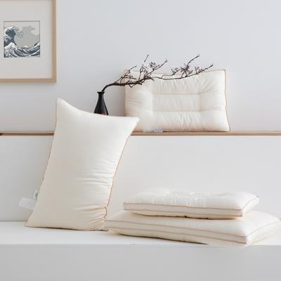 2020秋冬新款板蓝根舒睡枕枕头枕芯 47*73cm白色