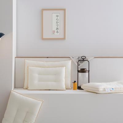 2020秋冬新款零压力抗菌枕头枕芯 47*73cm白色