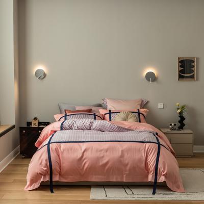 2021新款宝格丽四件套 1.8m床单款四件套 粉