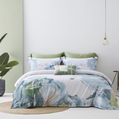 2021新款100S天丝棉数码印花时尚休闲系列 2.0m床 岁月静好