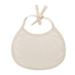 天然彩棉口水巾 婴儿喂奶巾 围嘴口水围兜 花型随机