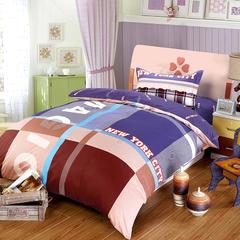 2018新款-儿童床上用品被子三件套卡通午睡宝宝婴儿被套纯棉床褥 床单1.6*2.2 夏洛克