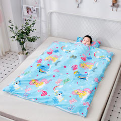 宝宝睡袋婴儿秋冬四季通用春秋可拆冬季加厚睡袋儿童防踢被中大童 小马谷