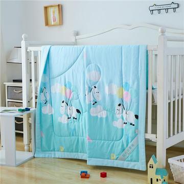 婴儿夏凉被天丝莫代尔夏被幼儿园被子夏季卡通薄被宝宝儿童空调被 120*150cm  五彩气球