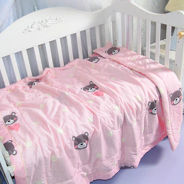 婴儿夏凉被天丝莫代尔夏被幼儿园被子夏季卡通薄被宝宝儿童空调被 120*150cm