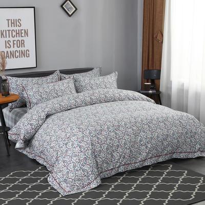 2019新款美卡绒面料纯棉四件套 1.8m(6英尺)床 费加尔