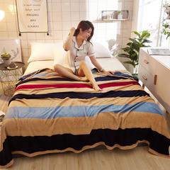 2018法莱绒毛毯 70*100cm(花型随机) 爱的告白