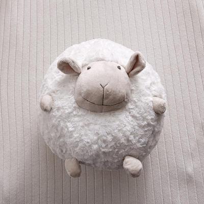 2020韩国原单同款网红创意绵羊公仔抱枕 32x32cm 脏脏白