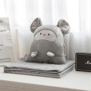 2019新款卡卡鼠抱枕毯暖手捂三合一
