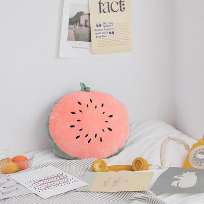 2020新款清新水果刺绣抱枕 45x40cm 西瓜