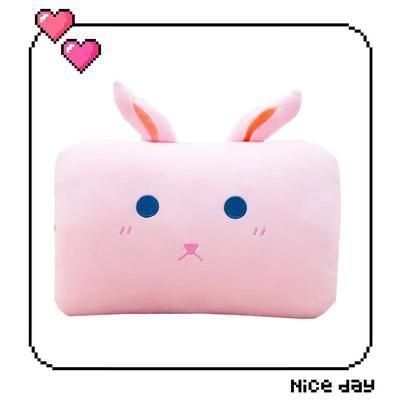 批發團購送禮贈品款冬季手捂抱枕 30X20cm 長小兔