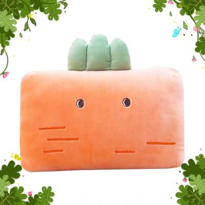 批發團購送禮贈品款冬季手捂抱枕 30X20cm 長菠蘿