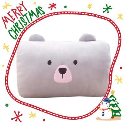 批發團購送禮贈品款冬季手捂抱枕 30X20cm 長小狗