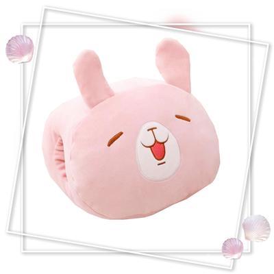 批發團購送禮贈品款冬季手捂抱枕 30X20cm 方小兔