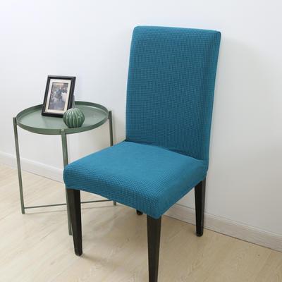 2020新款宾馆酒店饭店魔术椅套玉米绒-通用尺寸 玉米绒 湖蓝