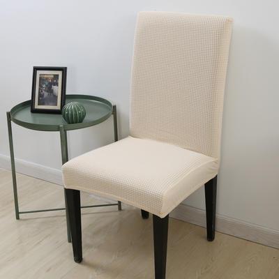 2020新款宾馆酒店饭店魔术椅套玉米绒-通用尺寸 玉米绒 米黄
