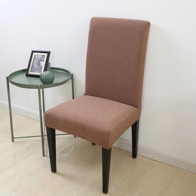 2020新款宾馆酒店饭店魔术椅套玉米绒-通用尺寸 玉米绒 浅咖