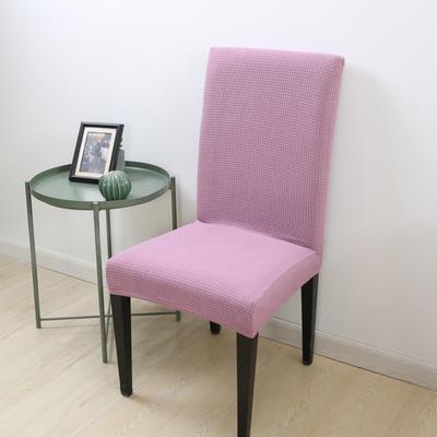 2020新款宾馆酒店饭店魔术椅套玉米绒-通用尺寸 玉米绒 浅紫