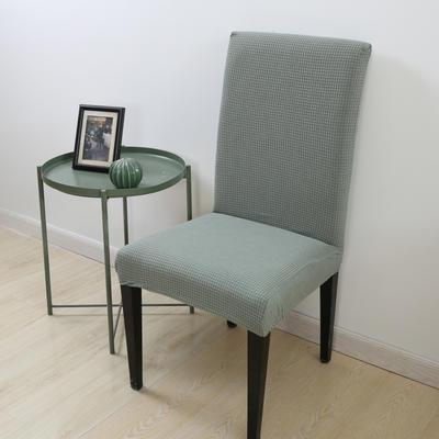 2020新款宾馆酒店饭店魔术椅套玉米绒-通用尺寸 玉米绒-草绿