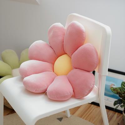 2020新款朵朵系列之小雏菊抱枕 60X60CM 朵朵-粉色