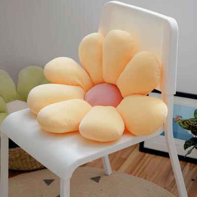 2020新款朵朵系列之小雏菊抱枕 60X60CM 朵朵-黄色