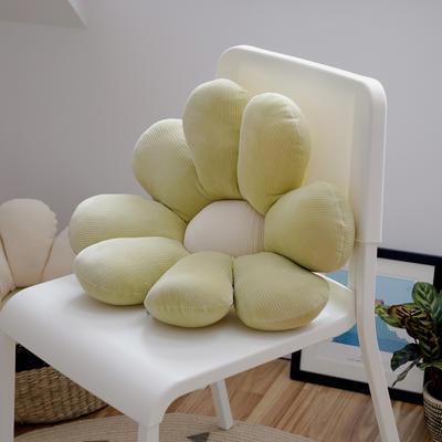 2020新款朵朵系列之小雏菊抱枕 60X60CM 朵朵-绿色