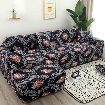 2020新款四季款印花沙发套 单人位尺寸90-140cm 迷梦花香
