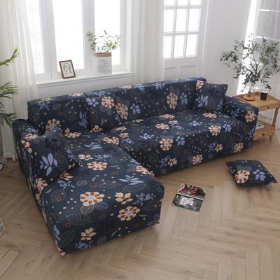 2020新款四季款印花沙发套 单人位尺寸90-140cm 秘密花园