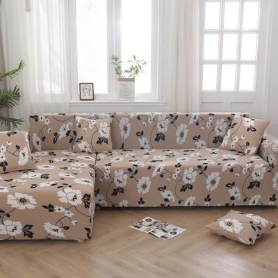 2020新款四季款印花沙发套 单人位尺寸90-140cm 晚秋