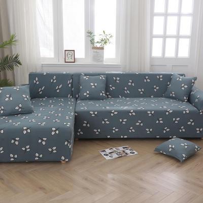 2020新款四季款印花沙发套 单人位尺寸90-140cm 小枫叶