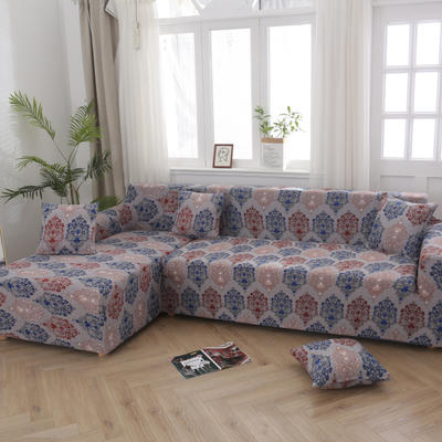 2020新款四季款印花沙发套 单人位尺寸90-140cm 英格兰