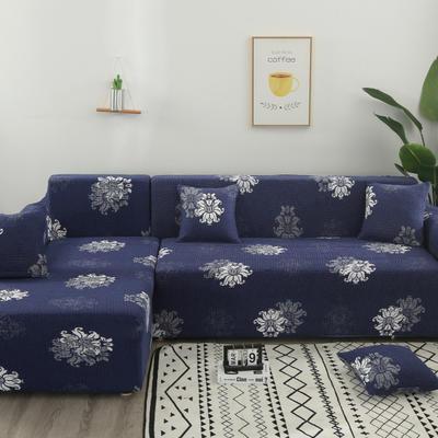 2020新款四季款印花沙发套 单人位尺寸90-140cm 优雅绽放