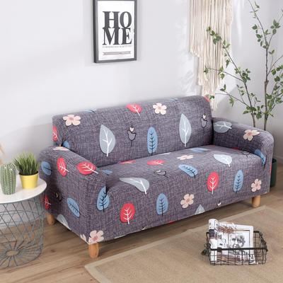 2020新款四季款印花沙发套 单人位尺寸90-140cm 月光森林
