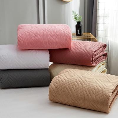 磨毛夹棉单床笠加厚床笠 90cmx200cm 粉色