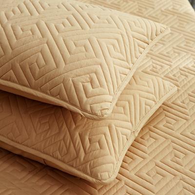 磨毛夹棉单床笠加厚床笠 90cmx200cm 黄驼