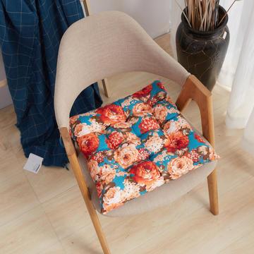厂家加厚椅子坐垫 家居餐椅垫批发 印花坐垫 榻榻米方垫美臀 批发