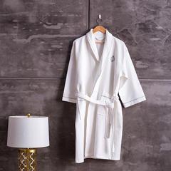 2018新款浴袍 均码 白色
