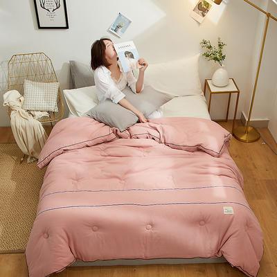 2019新款水洗棉工艺款-细致生活被子被芯 1.5*2.0 3斤 细致生活-豆沙