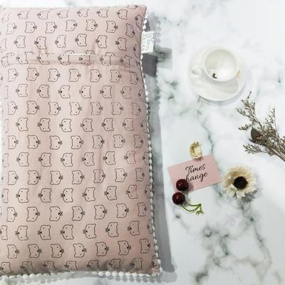 2018新款-儿童枕芯 30*50cm 猫先生粉色