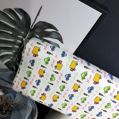 2018新款-乳胶枕系列(儿童乳胶枕) 27*45cm高度6cm 交通马路