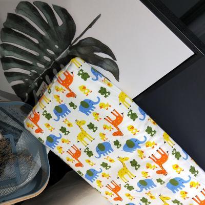 2018新款-乳胶枕系列(儿童乳胶枕) 27*45cm高度6cm 蓝色小象