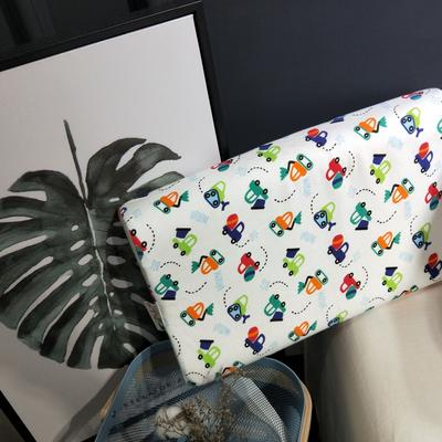 2018新款-乳胶枕系列(儿童乳胶枕) 27*45cm高度6cm 喷水枪