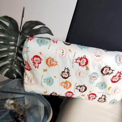2018新款-乳胶枕系列(儿童乳胶枕) 27*45cm高度6cm 小猴子