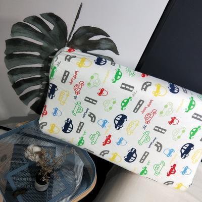 2018新款-乳胶枕系列(儿童乳胶枕) 27*45cm高度6cm 小汽车