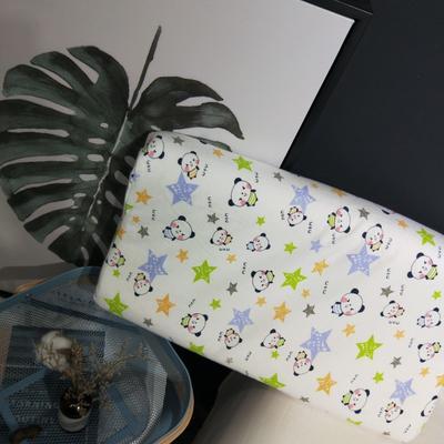 2018新款-乳胶枕系列(儿童乳胶枕) 27*45cm高度6cm 小熊猫