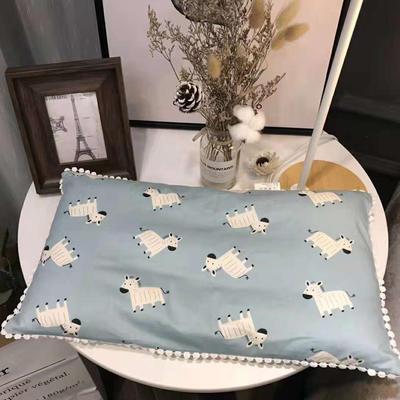 2018新款ins仪珍棉-儿童枕 30*50cm 斑马先生