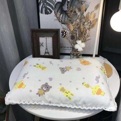 2018新款纱布枕--儿童枕 32*48cm 动物园