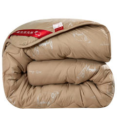 富雅图家纺 臻品羊毛被驼毛被 150x200cm(4斤) 驼色