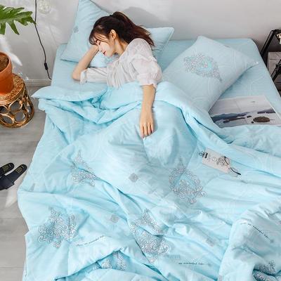 2019新款洛卡棉夏被四件套 150*200cm 11炫耀